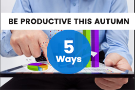 5 ways to improve productivity in your business this autumn Image
